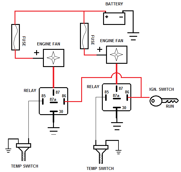 spal electric fan wiring diagram wiring diagram for you • spal fan relay wiring diagram imageresizertool com dual cooling fan wiring diagram cooling fan relay wiring